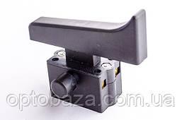 Кнопка для болгарки 230 (12 A) большой фиксатор, фото 3