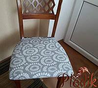 Чехлы на стулья Испания, Нубо (упаковка 2 шт.) серый
