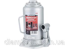 Домкрат гидравлический бутылочный, 50 т, h подъема 236-356 мм // MTX MASTER 507379