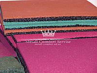 Резиновая плитка 500х500х30 розовая