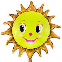 Шар фольгированный Солнышко 80см