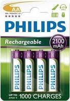 Аккумулятор PHILIPS R6 AA 2100mAh MultiLife Ni-MH