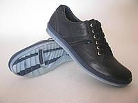 Туфли темно-cиние, черные кожаные OXION SV PRADA р-р 40-45 от производителя