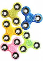 Спиннер цветной пластик, игрушка антистресс 2619, ассорти