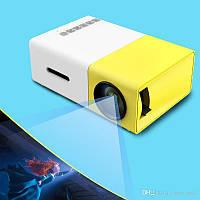 Мини LED проектор портативный мультимедийный с динамиком YG300