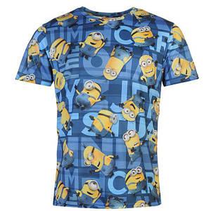 Мужская футболка с принтом Миньоны Minions размер S