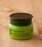 Увлажняющий крем для проблемной кожи Innisfree Green Tea Balancing Cream