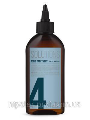 Тоник стимулирующий для всех типов кожи головы IdHair Solutions №4 50 ml