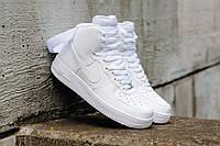 """Кроссовки Оригинал Nike Air Force 1 High '07 """"White"""" (315121-115)"""