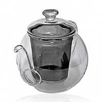 "Чайник из жаропрочного стекла ""Дыхание океана"" 1000мл"