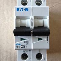 Автоматический выключатель EATON / Moeller PL4-C25/2