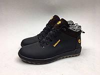 Мужские ботинки Timberland черно-коричневые