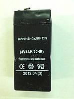 Аккумулятор 4v (4v 4AH/20HR)