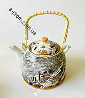 Заварник керамический 700мл, расцветка в ассортименте