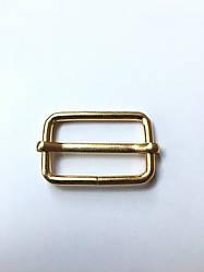 Рамка регулятор Перетяжка 30х19х3.5мм золото