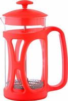 Френч-пресс CON BRIO CB-5380 (0,8 л) красный