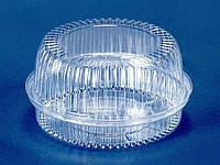 Упаковка из полистирола для торта ПС-220 (V1800мл) Ф196*95 (300 шт)