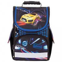 Школьный ортопедический рюкзак Tiger Yellow Car Nature Collection (21101A)
