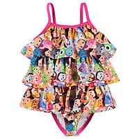 Купальник детский на девочку Disney Tsum Tsum 3-6 мес. рост 62-68 (купальники, дитячий купальник, на дівчинку)