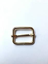 Рамка регулятор Перетяжка 25х19х3.5мм золото
