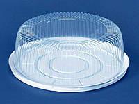 Упаковка из полистирола для торта ПС-241 (V3000мл)Ф260*85 (200 шт)