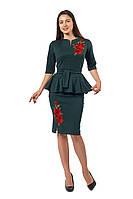 Женский  костюм двойка большого размера Розалия А 5 красивый в интернет магазине по распродаже