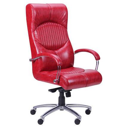 Кресло Геркулес Хром Механизм MB Лаки Красный (AMF-ТМ), фото 2