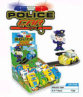 Игрушка с драже Police Car 12 шт Aras