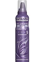 """Мусс для волос """"Защита"""" мегафиксация 160 мл Прелесть Professional"""