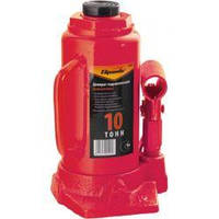 Домкрат гидравлический бутылочный, 5 т, h подъема 196-380 мм // SPARTA 50323
