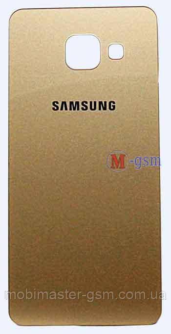 Задняя крышка Samsung A310 золотистая