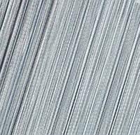 Шторы Нити, кисея, серый, серебрянный №7