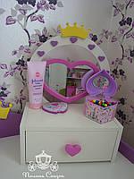 "Туалетное настольное зеркало ""Ля-Мур"", фото 1"