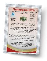Пиперазин 45% 15 гр порошок от гельминтов для животных