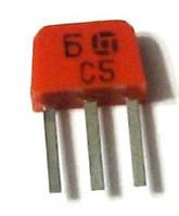 КТ315Б транзистор NPN (100мА 20В) (h21э: 50-350) 0,15W