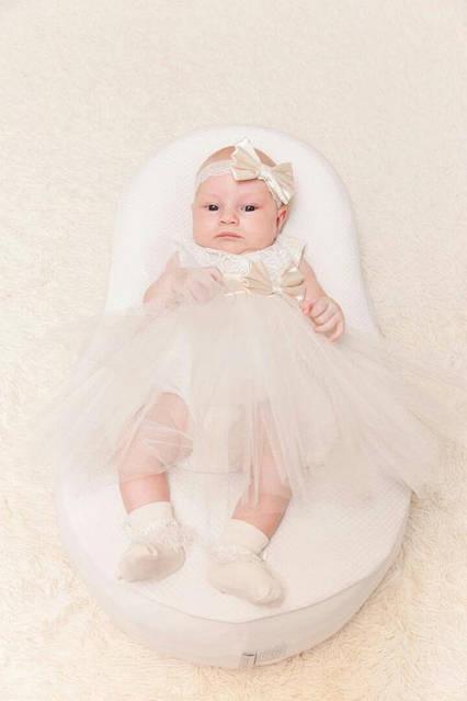 Роскошное крестильное платье
