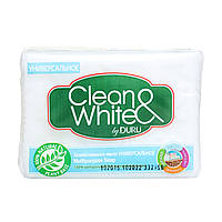 Хозяйственное мыло Универсальное Clean&White By Duru