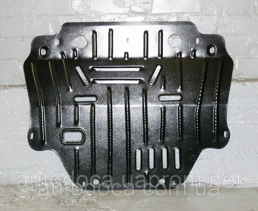 Защита картера двигателя и кпп Peugeot 3008  2009-