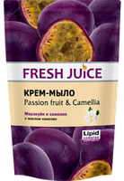 Жидкое крем-мыло Fresh Juice Passion fruit & Camellia (Маракуйя и камелия) дой-пак 460мл