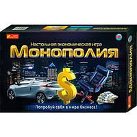 Экономическая настольная игра Ranok-Creative Монополия (5807,12119001Р)