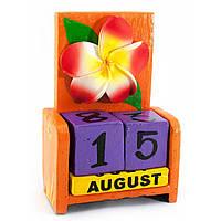 Календарь настольный Цветок дерево (15х10х5 см)