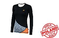 Спортивная женская кофта Radical Reaction LS (original), лонгслив, женский рашгард, компрессионная