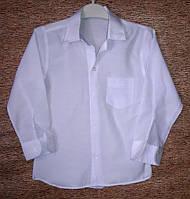 Рубашка белая на мальчика Школа (6-9 лет)