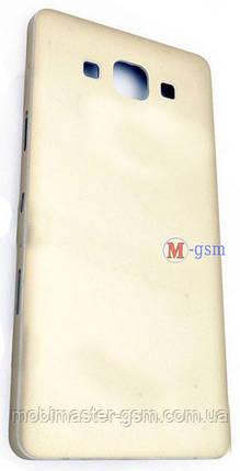 Задняя крышка Samsung A500 золотая, фото 2