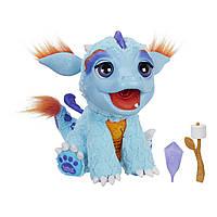 Интерактивный огнедышащий Дракон Дракоша FurReal Friends Torch, My Blazin' Dragon