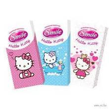 Бумажные носовые платочки Hello Kitty 10 шт