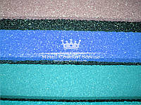 Резиновая плитка 500х500х30 морская волна