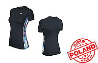 Спортивная женская футболка Radical Reaction II SS (original), женский рашгард с коротким рукавом, компрессион