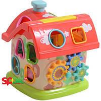 Развивающая игрушка Limo Toy Чудо-домик (M 0001 U/R)