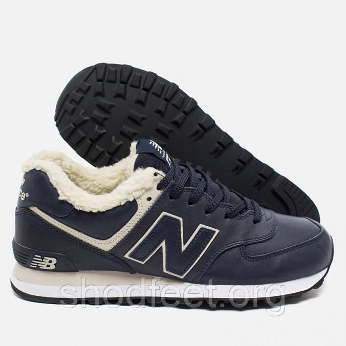 Зимние мужские кроссовки New Balance ML574NV